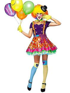 Sexy Clown Costume For Halloween | Seasonal Holiday Guide