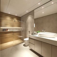 New flooring cement bathroom Ideas Wood Tile Bathroom Floor, Cozy Bathroom, Bathroom Windows, Bathroom Ideas, Tile Floor, Bathroom Design Luxury, Bathroom Layout, Modern Bathroom Design, Bad Inspiration