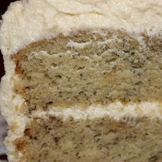 Banana cake recipe with amazing frosting