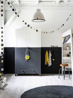 The most stylish personality of the two-color design of the wall - Page 12 of 39 - zzzzllee Jungle Room, Baby Room Design, Fashion Room, Kidsroom, Cool Baby Stuff, Home Renovation, Interior Design Living Room, Kids Bedroom, Wall Colors
