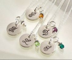 Bridesmaid Gifts/Bridesmaid Necklaces/This One's For The Girls « Wedding Ideas, Top Wedding Blog's, Wedding Trends 2014 – David Tutera's It's a Bride's Life