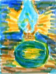 Mustafa akşamüstü Kale'ye gelir, sokak lambalarını bir bir gezer, dolaşır, islenip kararan camları, lamba şişelerini siler parlatır, haznelerine gaz yağı...
