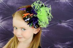 Over the Top Halloween Boutique Hair Bow by IzzyDianesBowtique, $21.00