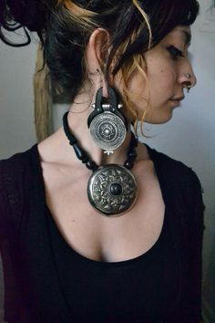 silver and black by Wolftea on Etsy