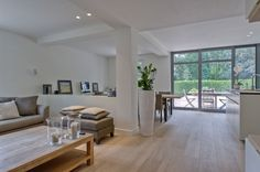 Living room by Villabouw Sels