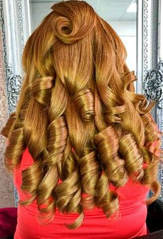 Curls For Long Hair, Spiral Curls, Beautiful Long Hair, Curlers, Hairstyle Ideas, Girl Hairstyles, Sausage, Curly Hair Styles, Hair Beauty