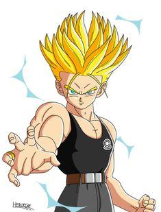 Super Trunks, Super Movie, Dbz Characters, Cartoon Shows, Son Goku, My Character, Dragon Ball Z, Manga Anime, Animation