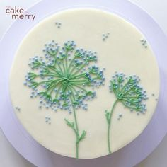 Cake Decorating Frosting, Cake Decorating Designs, Creative Cake Decorating, Cake Decorating Techniques, Cake Decorating Tutorials, Cookie Decorating, Pretty Birthday Cakes, Pretty Cakes, Simple Cake Designs