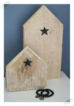 Mooie houten huisjes