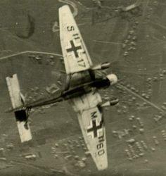 K Junkers Ju87 B started attack