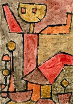 "Paul Klee - ""Boy with Toys"" (1940)"