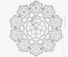 Chiacchierino lavori con schema | Sezione Hobbystica Chiacchierino lavori con schema | La bellezza del fatto a mano