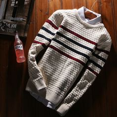 Цвет: белый цвет Mens Fashion Sweaters, Sweater Fashion, Preppy Casual, Casual Wear, Sweater Jacket, Men Sweater, Mens Clothing Styles, Style Guides, Casual Shirts