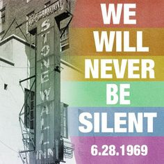 Remembering the Stonewall Inn riots... They marked the start of the modern gay rights movement.