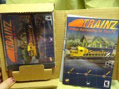 Trainz (PC, 2002) Virtual Railroading On Your PC - Windows-Cd-Rom-NEVER OPENED start bidding!