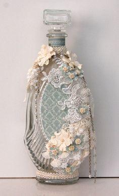 altered glass bottle *Pion Design*