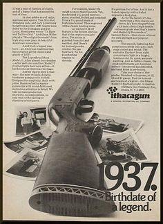 1972 Magazine Print Ad for Ithacagun Shotguns Firearms, Shotguns, Shooting Accessories, Hunting Rifles, Sound & Vision, Vintage Ads, Vintage Advertisements, Old Signs, Cool Guns