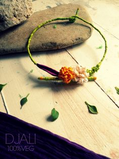 collarino primavera - paper necklace