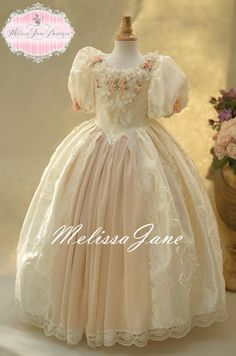 Floating on a Cloud Flower Girl Dress,First Communion Dresses,Toddler Dresses,Princess Ball Gown,Special Occasion Girls Clothing Frocks For Girls, Little Girl Dresses, Girls Dresses, Flower Girl Dresses, Pageant Dresses, Flower Girls, Party Dresses, Toddler Dress, Baby Dress