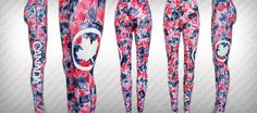 Wearable Apparel Art by Natalie Medina Celebrate, show your patriotic spirit with a unique custom hand painted abstract art legging. Theyre long lasting, wash proof and fun to wear. *Brand: Varies *Size: One Size Fits Most (S-L) * Length: 35 * Waist: 24 - 36 * Hips: 32 - 46 *Fit: 100-195 lbs/52-6 *Material: 92% Polyester, 8% Spandex *Made with a very soft, lightweight breathable high stretch fabric *Form-Fitting with Elastic Waistband  *Hand Wash Cold *Do Not Bleach *Hang Dry  *****ALL…