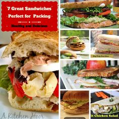 7 Delicious Sandwiches that are Perfect for Packing, from @puregracefarms
