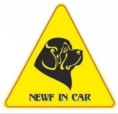#Наклейка на #авто  #Stickers on #cars #Terranova #Newfoundlanddog #Newf #ньюфаундленд #ньюф #newfoundland #newfie #newfoland