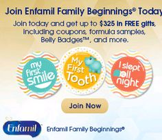 Shoppin N More: Enfamil Family Beginings - Up to $325 in Free Gift...