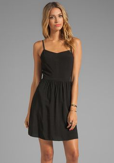SPLENDID Tank Dress in Black - Dresses