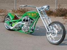 Chrome Favorite   Totally Rad Choppers