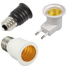 E27 220v Screw Mouth Night Light Can Tilting Eu Lamp Holder Adapter Shades E12 To E14 Bulb Converter Lamp Socket Changer China Lamp Holder Lamp Lampshades