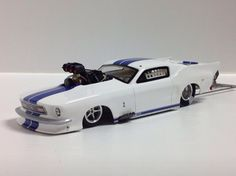 Beautiful Mustang.....hard to believe its a slot car drag car