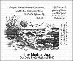 THE+MIGHTY+SEA++on+www.addictedtorubberstamps.com