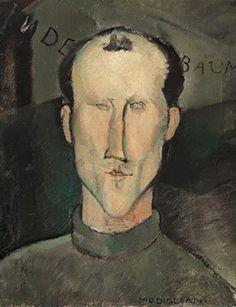Amedeo Modigliani, Léon Indenbaum, 1916.