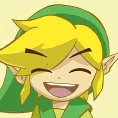Happy Toon Link