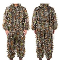1ddd272c541d4 3D Leaf Realtree Camo Camouflage Lightweight Clothing, Great for  Hunting,Shooting, Airsoft, Wildlife.