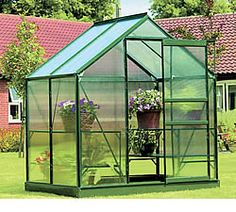 Easy Start 4' x 6' Greenhouse Kit ~O.K. THE SUNGLO I LIKE THE LOOK BUT TO COMPLICATED WITH C;D; & SO ON. I SEE YOU CARRY DIFFERENT BRANDS. YES; I NEED A EASY START & I HAVE IT TOGETHER IN MY HEAD & TRYING TO PIECE IT ALL TOGETHER SO IT WILL WORK. MY GREENHOUSE WILL BE FOR AIR PLANTS.