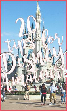 I'm partnering with a Disney travel agent to share her best 20 Tips for Disney! Little things and clever tricks you should know when planning your stay!