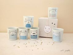 cup Family Color von Sobigraphie auf Etsy, €12.00