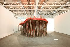 art basel   untitled: stage by phyllida barlow