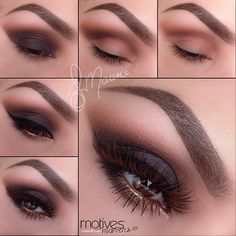 Step by step Pictorial for Smokey Eyes