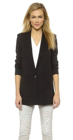 Helmut Lang Cove Suiting Blazer