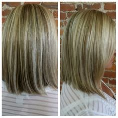 Cut and color by Chastity