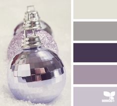 new year sparkle- Purple ornaments Color Palette - Paint Inspiration- Paint Colors- Paint Palette- Color- Design Inspiration color inspiration,Color Inspirations,Color Schemes,COLOR Paint Schemes, Colour Schemes, Color Combos, Colour Palettes, Wall Colors, House Colors, Paint Colors, Design Seeds, Colour Board