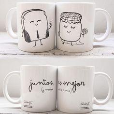 tazas diseños parejas - Google Search