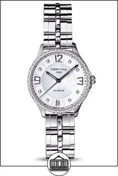 Certina - Reloj Analógico de Cuarzo para Mujer 99c4878ce7