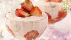 Want a healthy delicious dessert? Try Kevin Dundon's Strawberry Mousse! And it's #GlutenFree! Click for the great recipe :)