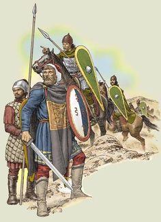 byzantine skutatos/light infantry and heavy cavalry 11-12th c