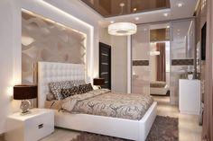 chambre à coucher extrêmement sophistiquée couleurs neutres #modern #bedroom