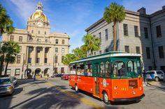 Old Town Trolley Savannah