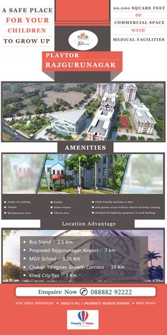 The latest project from this developer in the city of Pune is Playtor Rajgurunagar. Poised with sophisticated facilities, this developer offers wonderful dwelling experience to the property buyers. The only self-proclaimed child centric property developer in Pune is Playtor.